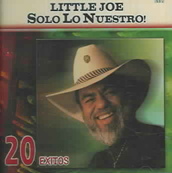 SOLO LO NUESTRO:20 EXITOS BY LITTLE JOE (CD)